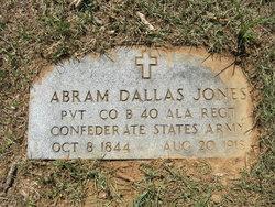 Abram Dallas Jones