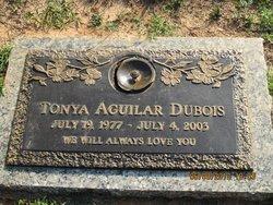 Tonya Marie <i>Aguilar</i> Dubois