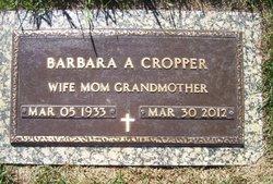 Barbara Ann <i>Dehn</i> Cropper