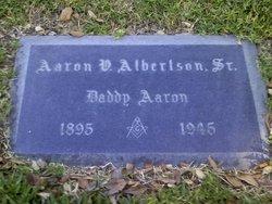 Aaron Valentine Albertson, Sr