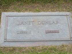 Janet <i>Mills</i> Dunlap