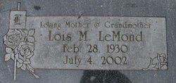 Lois Marlene <i>Lee</i> LeMond
