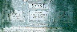 Mary Lenora <i>Halliburton</i> Rose