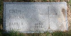 Edith <i>Phelan</i> Barker