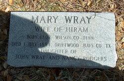 Mary <i>Wray</i> Bryant