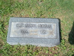 Ellie Eliza <i>Hanson</i> Cochran