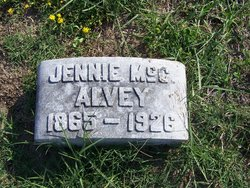 Jennie <i>McCullough</i> Alvey