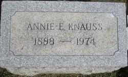 Mrs Annie E. Knauss
