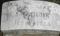 Mrs Bessie E. <i>Wieder</i> Knauss