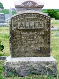 Alice Elizabeth <i>Holmes</i> Allen