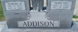 Mary Lee Addison