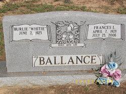 Frances L. <i>Hornick</i> Ballance