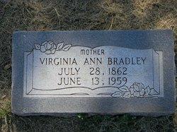 Virginia Ann <i>Minton</i> Bradley