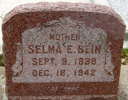 Selma E <i>Pape</i> Bein