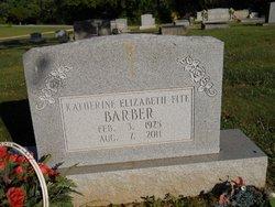 Katherine Elizabeth <i>Fite</i> Barber