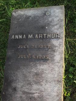 Anna M Arthur