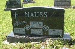 Jeanette L <i>Schemeyer</i> Nauss
