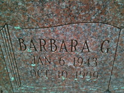 Barbara <i>Glass</i> Buckley
