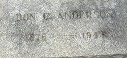 Don C Anderson