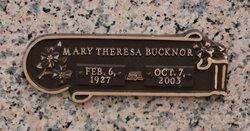 Mary Theresa <i>Williams</i> Bucknor