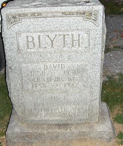 Sarah <i>Charlton</i> Blyth