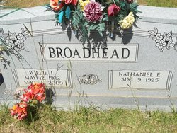 Willie I. Broadhead