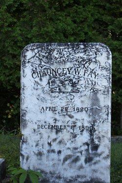 Chauncey W Fay