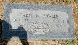 Sadie Mae <i>Grant</i> Fowler