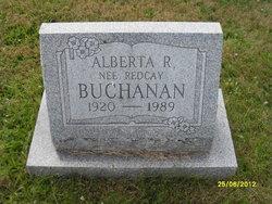 Alberta R <i>Redcay</i> Buchanan