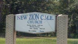 New Zion C.M.E. Cemetery