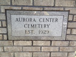 Aurora Center Cemetery