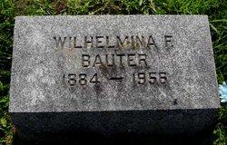 Wilhelmina F <i>Scherer</i> Bauter