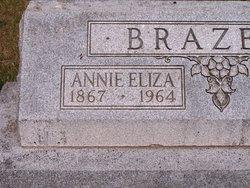 Anna Eliza <i>Burkhart</i> Brazeale