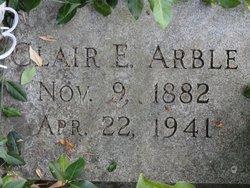 Clair Elban Arble