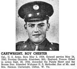 Roy Chester Cartwright