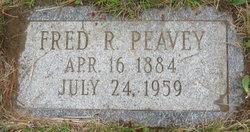 Frederick Rodney Fred Peavey