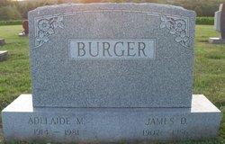 Adelaide May <i>Meckes</i> Burger