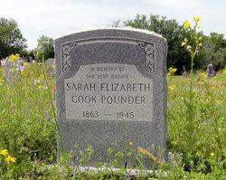 Sarah Elizabeth <i>Chambless</i> Pounder