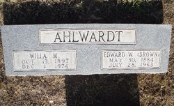 Willa M. <i>Arrowood</i> Ahlwardt