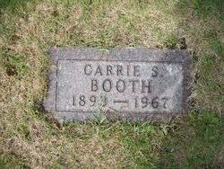 Carrie S Booth