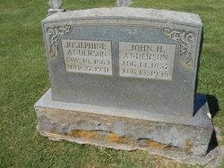 Josephine <i>Parker</i> Anderson