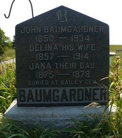 Delina P <i>Baldock</i> Baumgardner