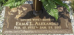 Erma Lean <i>Jackson</i> Alexander