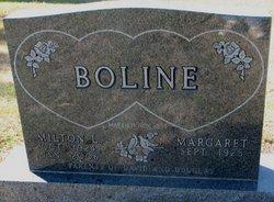 Margaret Elizabeth <i>Alne</i> Boline
