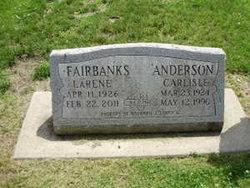Florence LaRene <i>Fairbanks</i> Anderson