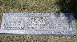 Elizabeth Lizzie <i>Mueller</i> Schoos