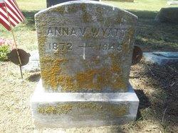 Anna V <i>King</i> Wyatt