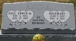 Rosemary <i>Sheldon</i> Ashba