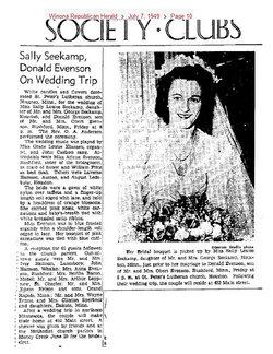 Sally L Evenson