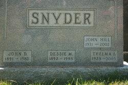 Dessie Mae <i>Price</i> Snyder